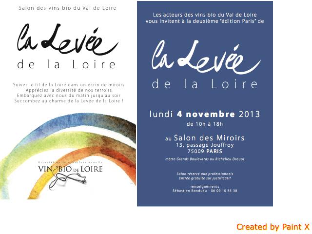 levée de la loire 2013 Paris