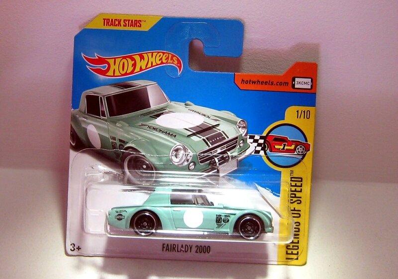 Datsun Fairlady 2000 (Hotwheels)