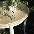 Une jolie table avec quelques rayons de soleil du nord