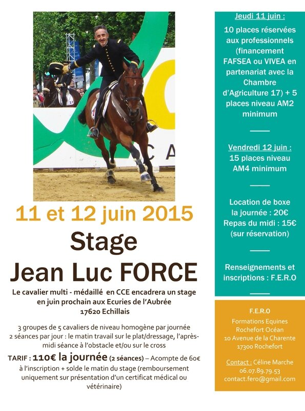 STAGE JEAN LUC