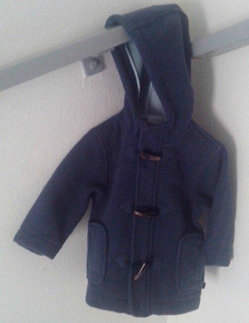Duffle coat, 1 an
