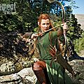 Evangeline Lilly Tauriel Hobbit Movie 2