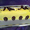 buche chocolat au lait/poire