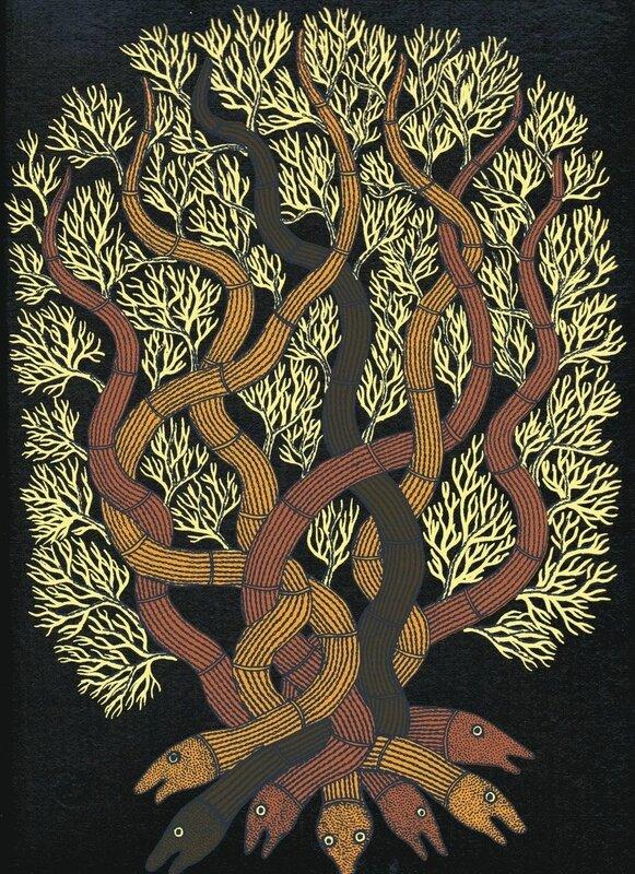 arbres gond