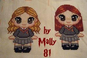 Hermione & Ginny by Mally81