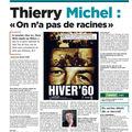 Vers l'avenir 1/12/2010 : thierry michel: on n'a pas de racines