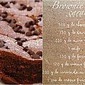 Brownie au caramel au beurre salé