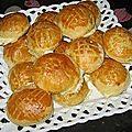 Petites bouchées au fromage