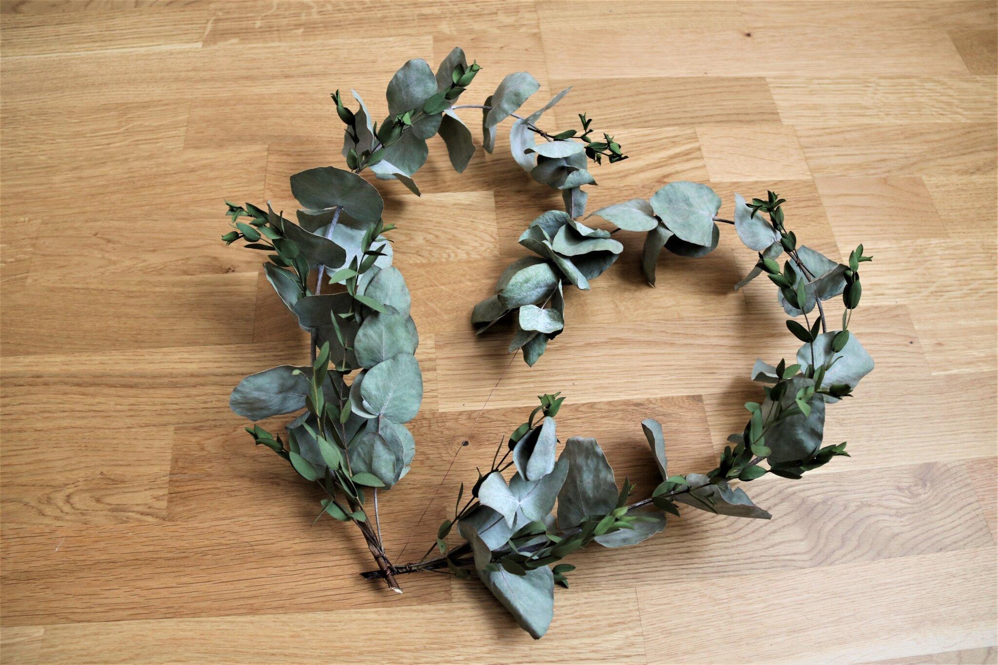 * DIY * - Coeur d'Eucalyptus