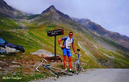 1175) vélo vers le col de Sarenne (Isère)