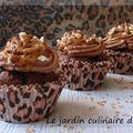 Cupcakes léopard