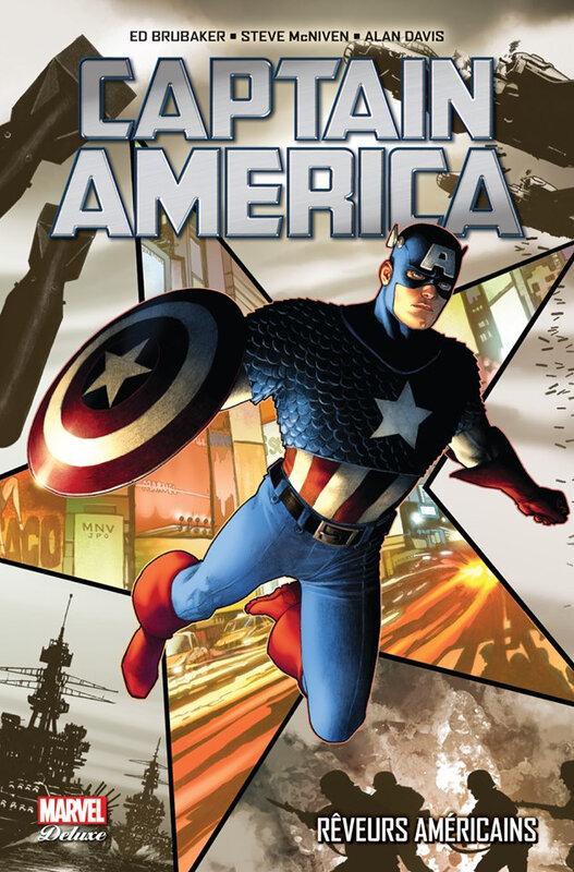 marvel deluxe captain america 01 rêveurs américains