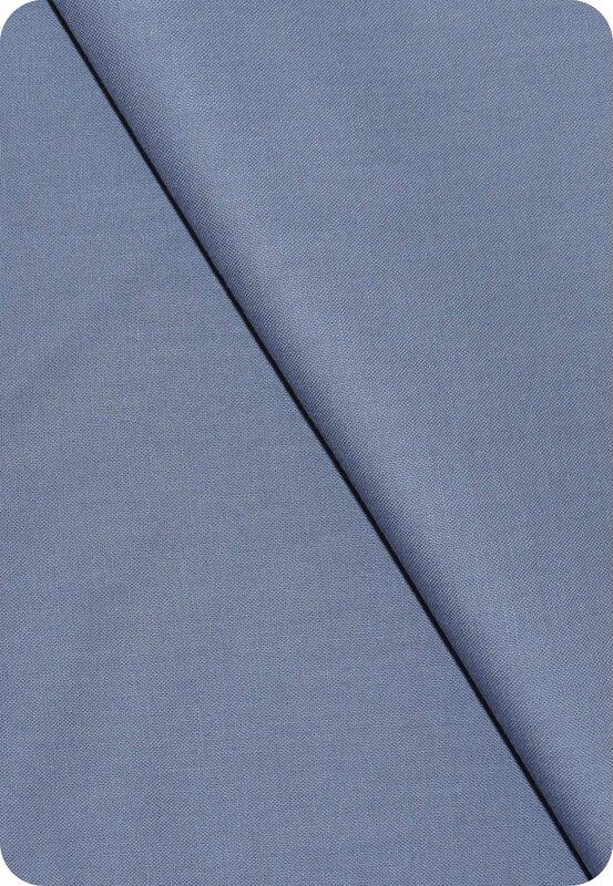 Tissu coton gris-bleu