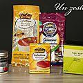 Un zeste de... gélifiant ( agar agar, pectine, maidon...) ou gélatines