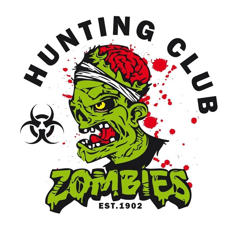 Zombie - zombie outbreak - Zombie party - Zombie response - Zombie hunter - Zombie team - biohazard - Printables - labels - Halloween - Recon - Special forces - Hunting club