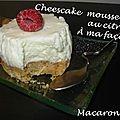 Cheesecake mousseux au citron - à ma façon!