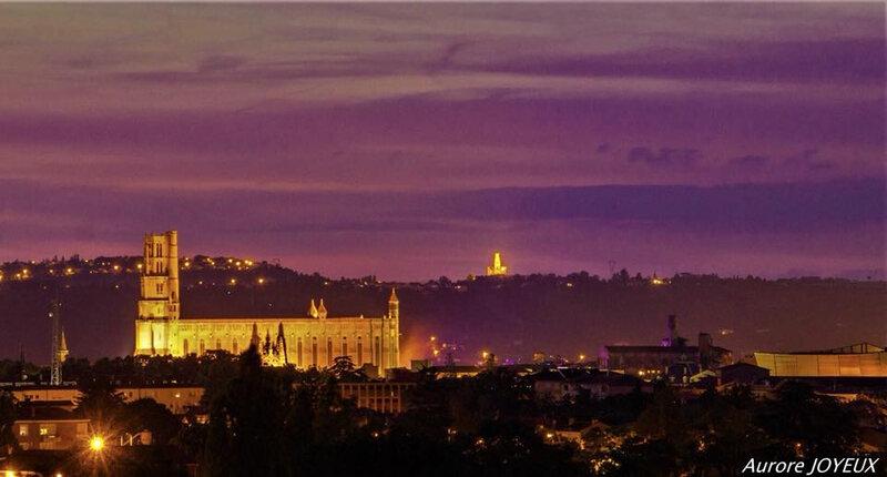 la cathédrale ste cécile à Albi