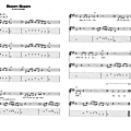 Boom boom (partition - sheet music)