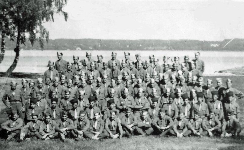 FONDS LECLERC 23014 Ammersee apres Armistice 3eme Escadron