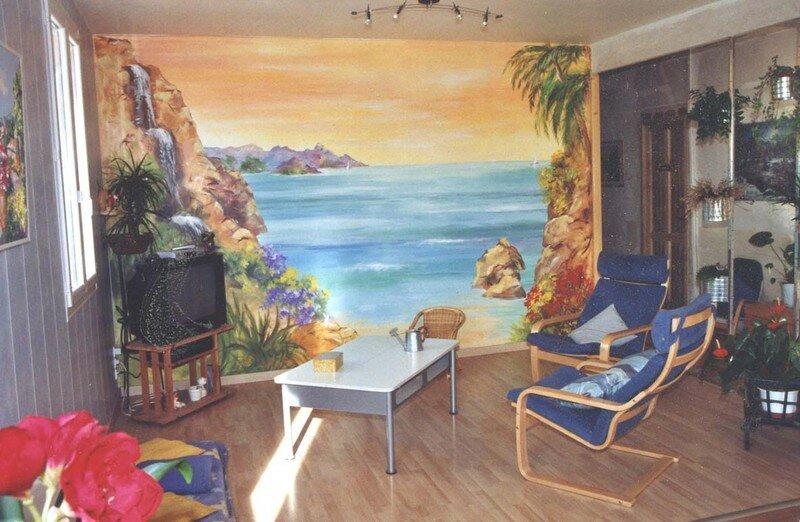 Décorations D Intérieur Fresques Murales Christophe