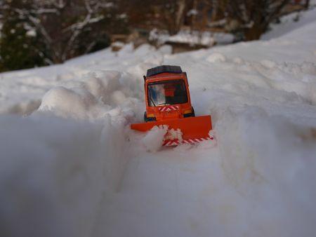Unimog U400 Chasse neige