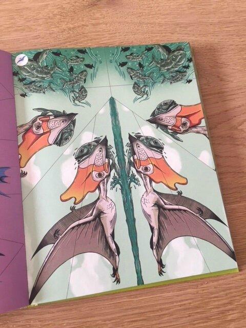 100 ptérosaures en papier usborne 3