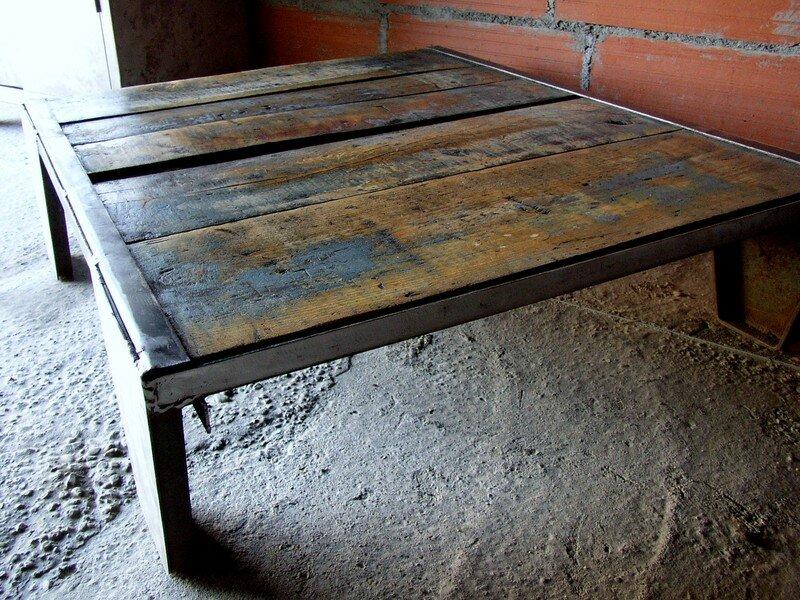 Table Basse Usine Tendance Metier Sur Ebay Fr Au 31 03 08 Systeme Deco