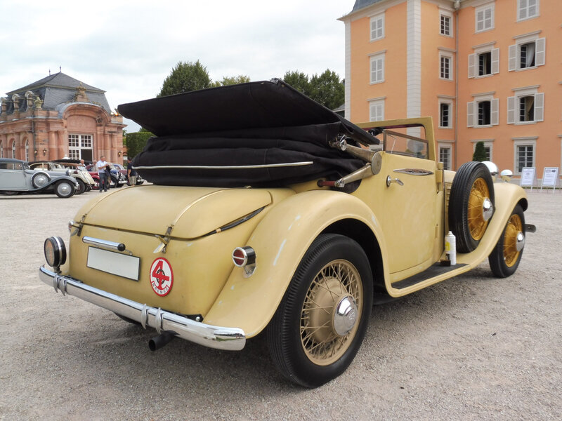 STOEWER R140 Luxus Sport cabriolet 1933 Schwetzingen (2)