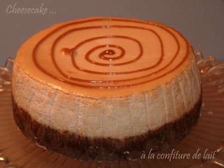 Cheesecake à la confiture de lait3