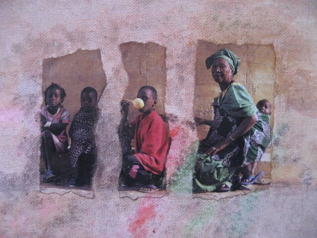 Famille Africaine (13X18)