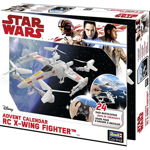 x-wing drone revell box