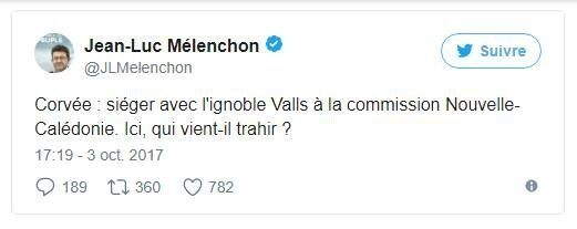 Edito Jean-Luc Mélenchon