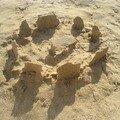 StoneHedge en sable (c'est moi qui l'ai fait ! )