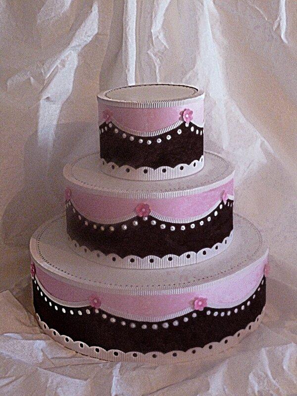 Gâteau pour une boutique de déco de table