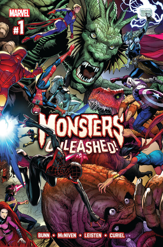 monsters unleashed 01