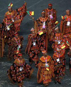 Le Cameroun à Londres 2012