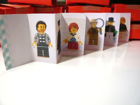 invitation figurines lego