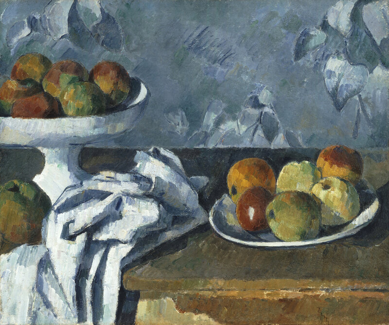 Still Life with Apples in a Bowl, 1879-1882, Paul Cézanne, MIN 1891