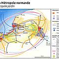 Voeux 2019 n°4: mettre à feu le moteur métropolitain normand toujours froid! (quid caen/ rouen/ le havre?)