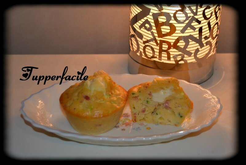 moelleux courgettes jambon