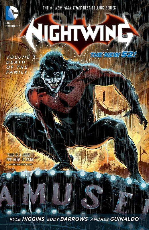 nightwing vol 3 death of the family TP