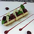 Cheese cake fruit rouge1