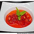 Panna cotta aux fraises