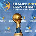 « les experts » champions du monde hand ball 2017