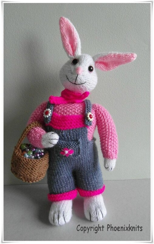 Traduction Emma the Easter Bunny - Phoenixknits