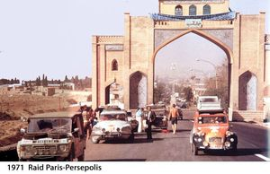 Raid Paris-Persepolis 1971
