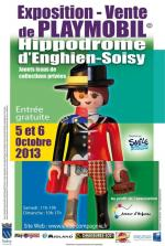 Affiche Playmobil Enghien Oct 2013