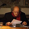 Bernard noël (1930 - ) : « assiégé de quel rire… »