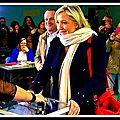 Marine le pen, présidente du front national sur i-télé le 07/12/2015