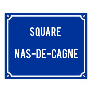 plaque square
